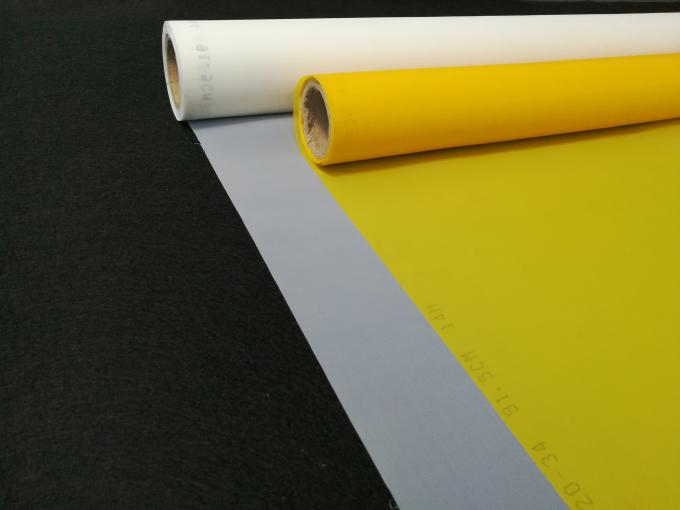 High Tension Strength Polyester Screen Printing 200 Mesh For Electronic Industry